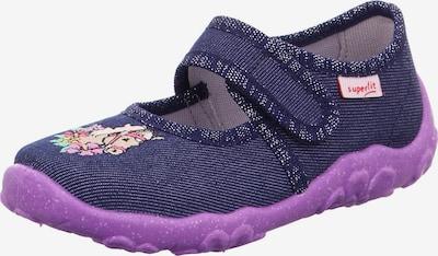 SUPERFIT Pantofle 'BONNY' - modrý melír / fialová / mix barev, Produkt
