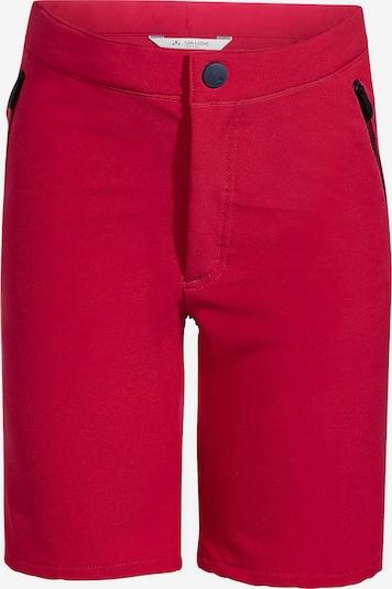 VAUDE Hose in rot, Produktansicht