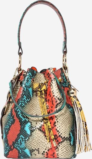 ALDO Vrečasta torba 'GISA' | pesek / turkizna / mešane barve / rdeča / črna barva, Prikaz izdelka