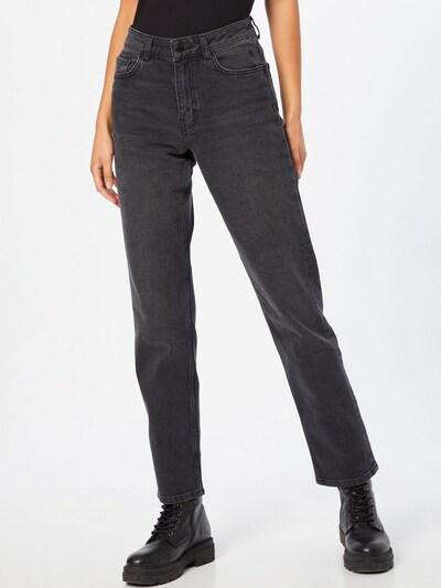 NU-IN Jeans in Black denim, View model