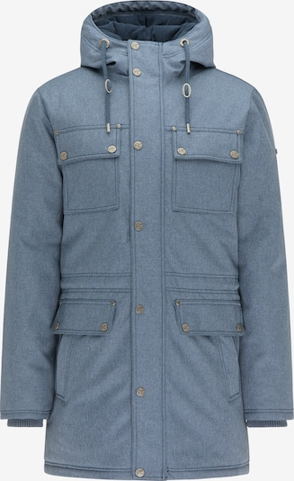 DreiMaster Vintage Winterjacke in himmelblau, Produktansicht