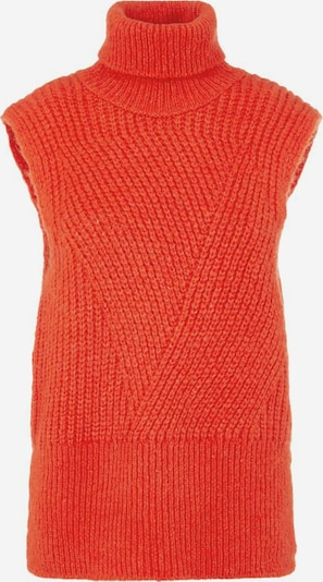 Y.A.S Pullover in orangerot, Produktansicht