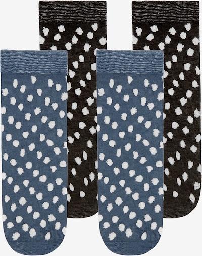 TOO HOT TO HIDE Socken 'SPIFFY SELINA' in blau / schwarz, Produktansicht