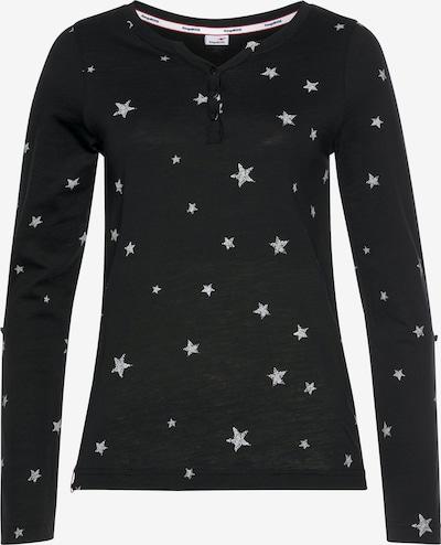 KangaROOS Shirt in schwarz / weiß, Produktansicht