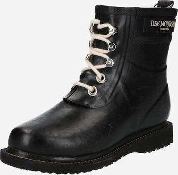 juoda ILSE JACOBSEN Guminiai batai