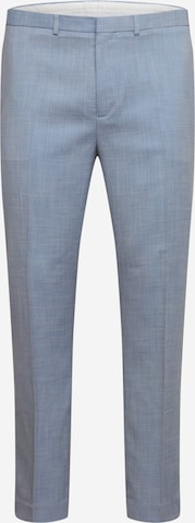 Pantalon à plis BURTON MENSWEAR LONDON en bleu
