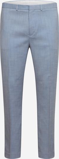 Pantaloni con piega frontale BURTON MENSWEAR LONDON di colore blu chiaro, Visualizzazione prodotti