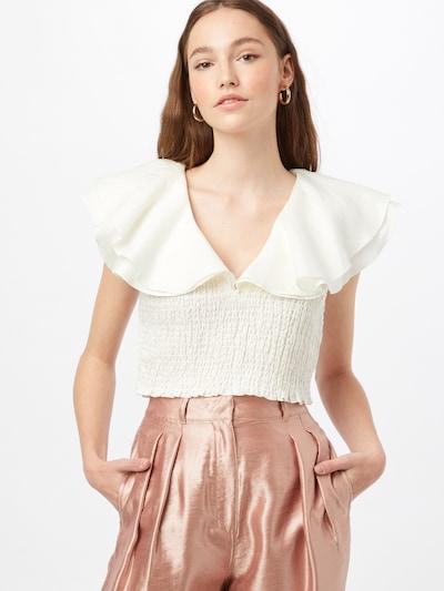 Bluză NA-KD pe alb, Vizualizare model