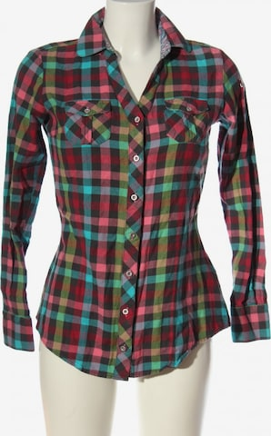 CIPO & BAXX Hemd-Bluse in M in Schwarz
