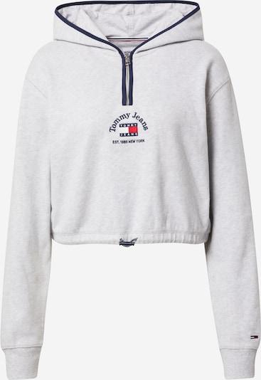 Tommy Jeans Sweatshirt in navy / hellgrau / rot / weiß, Produktansicht