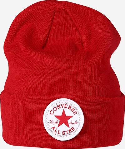 Megzta kepurė iš CONVERSE , spalva - raudona / balta, Prekių apžvalga