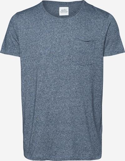 EDC BY ESPRIT T-Shirt en bleu fumé, Vue avec produit