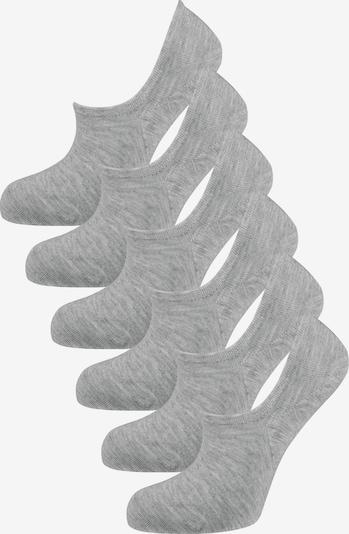 Nur Die Chaussons ' Bambus ' en gris chiné, Vue avec produit