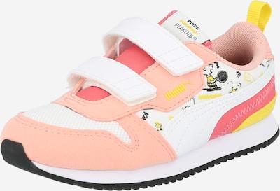 PUMA Brīvā laika apavi dzeltens / aprikožu / pasteļrozā / balts, Preces skats