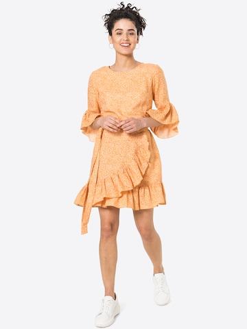 KAN Jurk 'BLOOM' in Oranje