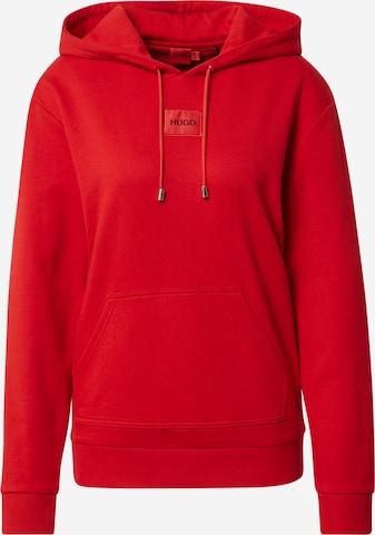 Felpa 'Dasara' di HUGO in rosso
