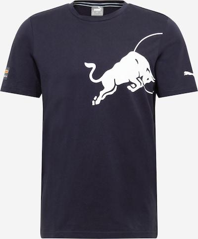 PUMA Functioneel shirt in de kleur Nachtblauw / Wit, Productweergave