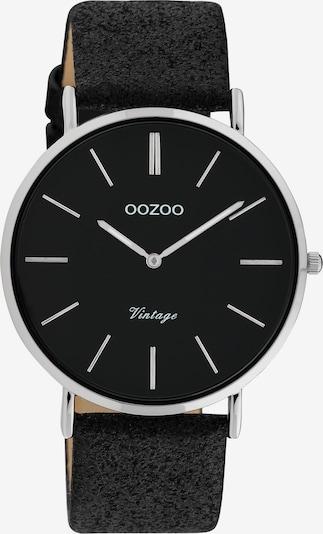 OOZOO Analoguhr in schwarz, Produktansicht