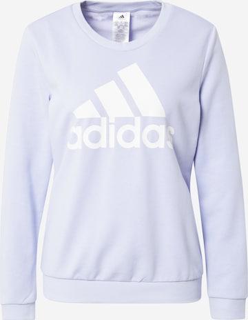 ADIDAS PERFORMANCE Athletic Sweatshirt in Purple