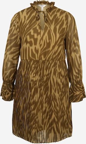 OBJECT Petite Shirt Dress 'ZANIA' in Brown
