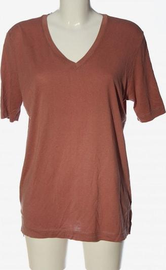 SELECTED V-Ausschnitt-Shirt in S in braun, Produktansicht