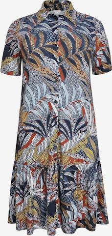 Yoek Shirt Dress ' Batik ' in Mixed colors