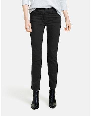 GERRY WEBER Jeans Best4me in Schwarz