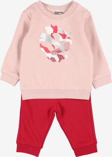 PUMA Odjeća za vježbanje 'Alpha' u pastelno roza / crvena / srebro, Pregled proizvoda