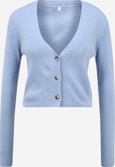 Missguided (Petite) Gebreid vest in de kleur Blauw, Productweergave