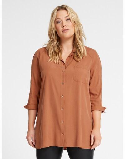 SAMOON Bluse in braun, Produktansicht