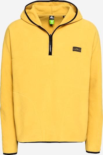 Sportinis megztinis iš QUIKSILVER , spalva - garstyčių spalva / juoda, Prekių apžvalga