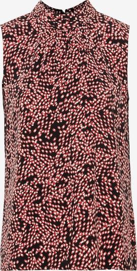 HALLHUBER Bluse in rot / schwarz, Produktansicht
