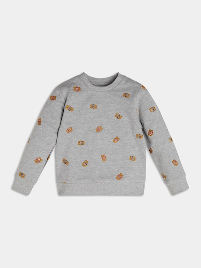 GUESS KIDS Sweatshirt in grau, Produktansicht