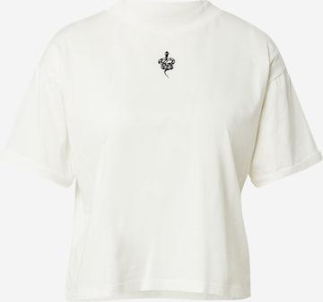 Maglietta 'Selina' di ABOUT YOU x INNA in bianco
