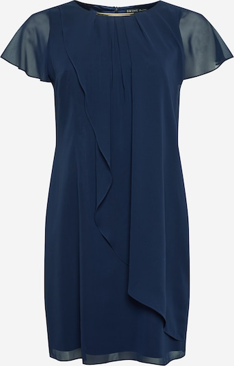 SWING Curve Cocktail dress in marine blue, Item view