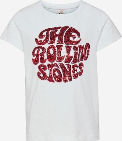 KIDS ONLY T-Shirt en rouge / blanc, Vue avec produit