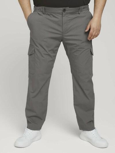 TOM TAILOR Men + Hosen in grau, Modelansicht