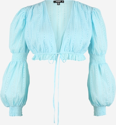 Missguided Petite Shirt in hellblau, Produktansicht