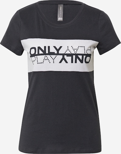 ONLY PLAY Shirt 'MAIKA' in nachtblau / weiß, Produktansicht