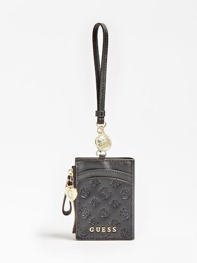 GUESS Etui in gold / schwarz, Produktansicht