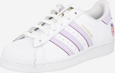 ADIDAS ORIGINALS Sneaker 'Superstar' in lila / weiß, Produktansicht