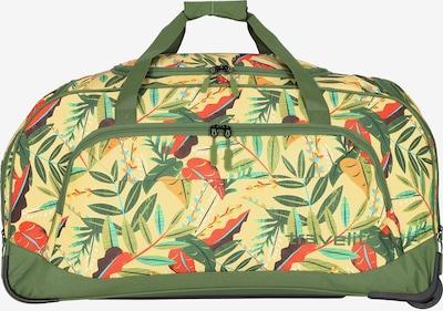 TRAVELITE Reisetasche 'Kick Off' in hellgelb / mischfarben, Produktansicht