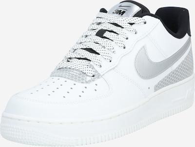 Nike Sportswear Niske tenisice 'Air Force 1 '07 LV8' u siva / crna / bijela, Pregled proizvoda