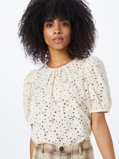 MOS MOSH Bluse 'Zinna' in wollweiß, Modelansicht