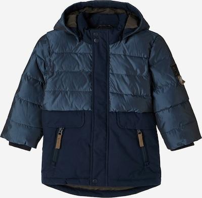 NAME IT Winterjas in de kleur Blauw / Donkerblauw, Productweergave
