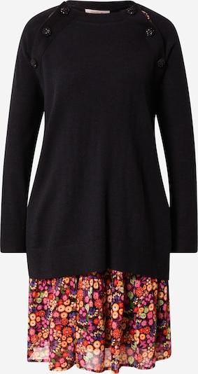 Derhy Robes en maille 'TARATATA' en mélange de couleurs / noir, Vue avec produit