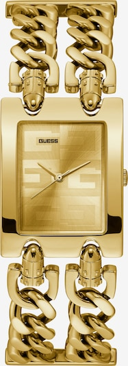 GUESS Analoguhr in gold, Produktansicht