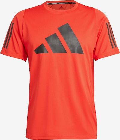 ADIDAS PERFORMANCE Functioneel shirt in de kleur Rood / Zwart, Productweergave