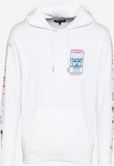 SHINE ORIGINAL Sweater majica u plava / roza / bijela, Pregled proizvoda