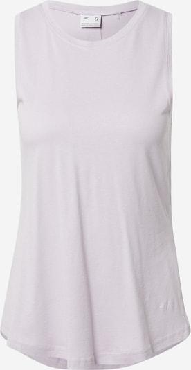 Sportiniai marškinėliai be rankovių iš 4F, spalva – pastelinė violetinė, Prekių apžvalga